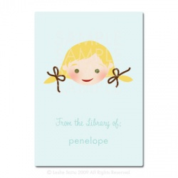 Little Pals Custom Bookplates: Penelope