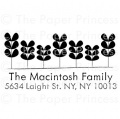 "Return Address Leaves Stamp: ""Macintosh"""