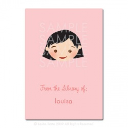 Little Pals Custom Bookplates: Louisa