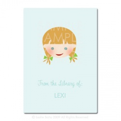 Little Pals Custom Bookplates: Lexi