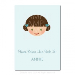 Little Pals Custom Bookplates: Annie