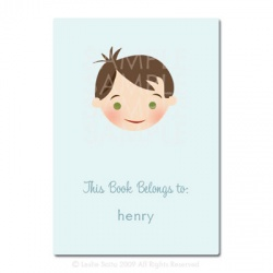 Little Pals Custom Bookplates: Henry