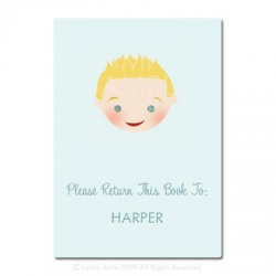 Little Pals Custom Bookplates: Harper