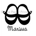 Custom Mary Janes: Marissa