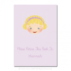 Little Pals Custom Bookplates: Hannah