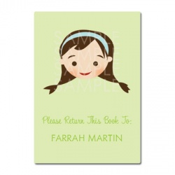 Little Pals Custom Bookplates: Farrah