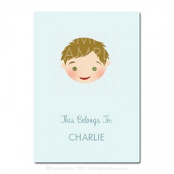 Little Pals Custom Bookplates: Charlie