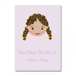 Little Pals Custom Bookplates: Alison