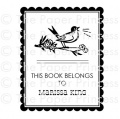 Custom This Book Belongs: Bird