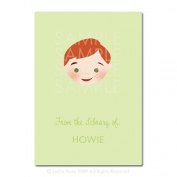 Little Pals Custom Bookplates: Howie