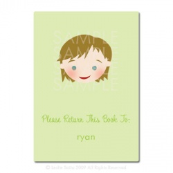 Little Pals Custom Bookplates: Ryan