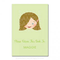 Little Pals Custom Bookplates: Maggie