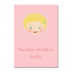 Little Pals Custom Bookplates: Hazel