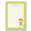 Personalized Stationery: Mary Jane