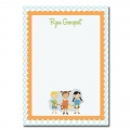 Personalized Stationery: 1950s Pals