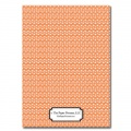 Personalizes Stationery: Orange U-Turn