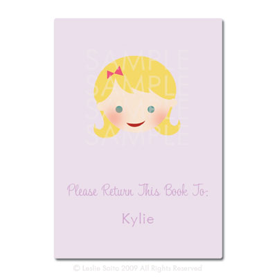 Little Pals Custom Bookplates: Kylie - Click Image to Close