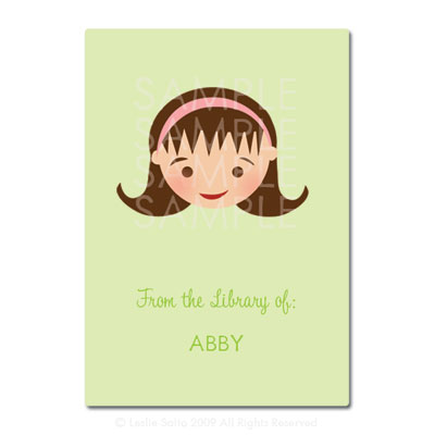 Little Pals Custom Bookplates: Abby - Click Image to Close