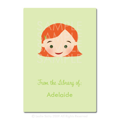 Little Pals Custom Bookplates: Adelaide - Click Image to Close