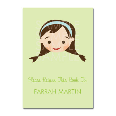 Little Pals Custom Bookplates: Farrah - Click Image to Close