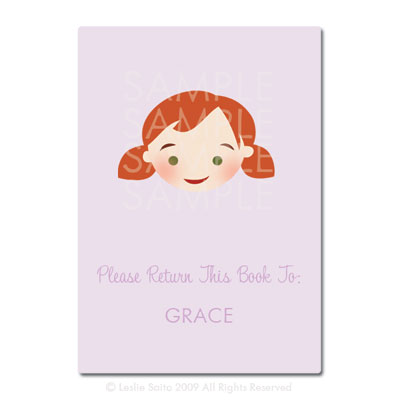 Little Pals Custom Bookplates: Grace - Click Image to Close