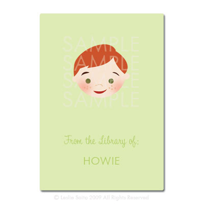 Little Pals Custom Bookplates: Howie - Click Image to Close