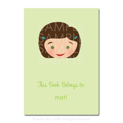 Little Pals Custom Bookplates: Mati - Click Image to Close