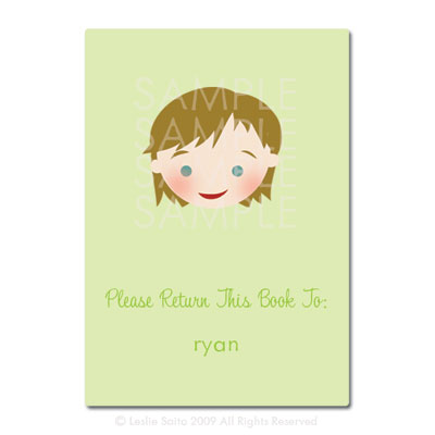 Little Pals Custom Bookplates: Ryan - Click Image to Close