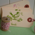 Bird Shipping Tags + Twine