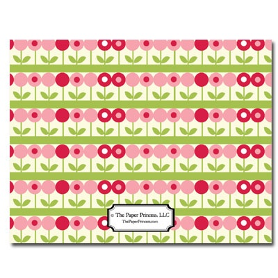Personalized Noteflats: May Flowers - Click Image to Close