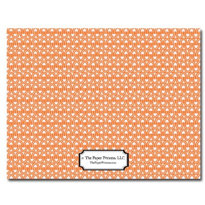 Personalized Noteflats: Orange U-Turn - Click Image to Close