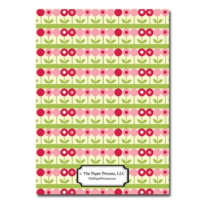 Personalized Stationery: May Flowers - Click Image to Close