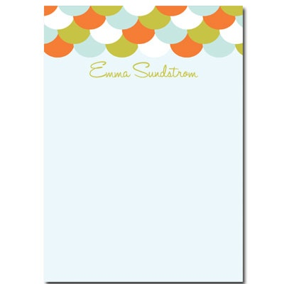 Personalized Stationery: Scales - Click Image to Close