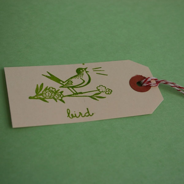 Bird Shipping Tags + Twine - Click Image to Close