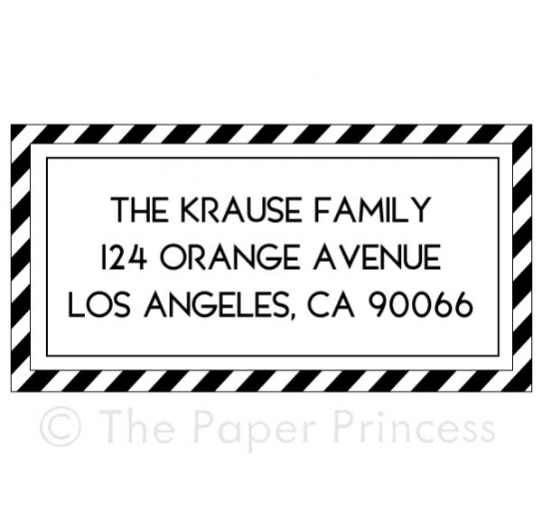 "Airmail Address ""Krause"" - Click Image to Close"