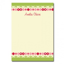 Personalized Stationery: May Flowers