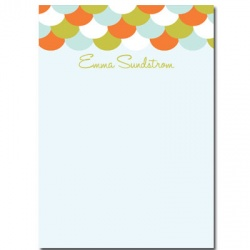 Personalized Stationery: Scales