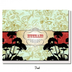 Vintage Vibe - Huzzah! Greeting Card