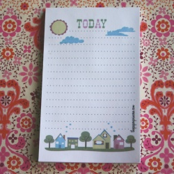 TODAY Lined Notepad