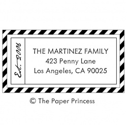 "Airmail Address ""Martinez"""