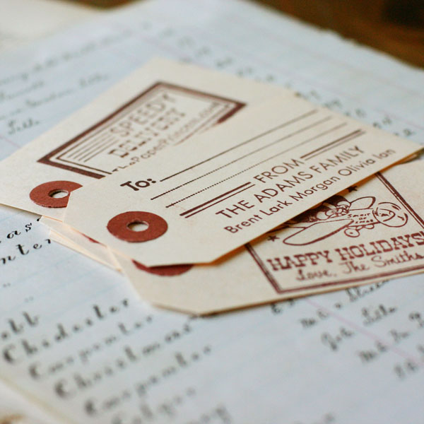 Return Address Tandem Stamp: Harry + Heather - Click Image to Close